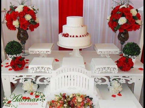 Alugar Decoração De Casamento Mesa Do Bolo Decoração Cerimonial Em