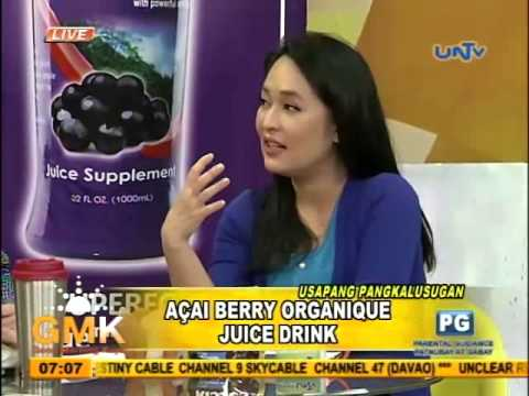 Acai Berry Organique Juice Drink to chronic disease
