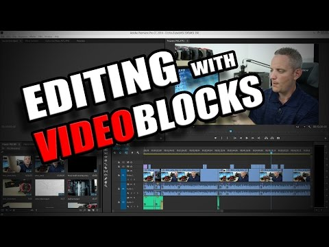 What is Videoblocks? | Plus a sneak peek of my Premiere workflow