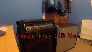 Fender Bassman 410 Neo and Vanderkley 115 Neo Comparison