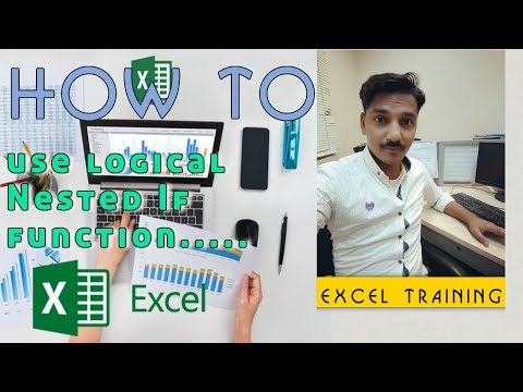 [Microsoft Excel] How to use Nested if Function