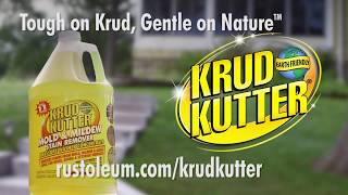 Remove Mold & Mildew Stains with Krud Kutter Mold & Mildew Stain Remover Pressure Washer Concentrate