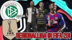 REGIONALLIGA IN FIFA 20! + JUVENTUS IST BACK!