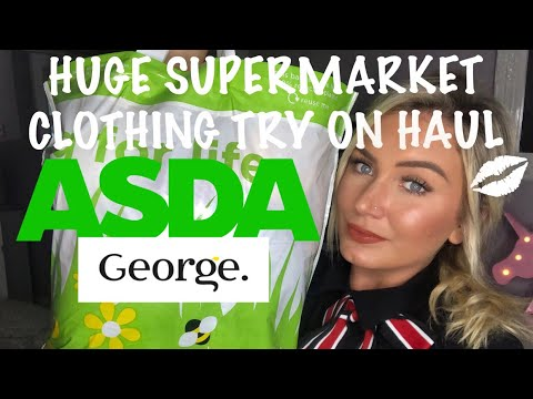 6c753ca98f HUGE SUPERMARKET CLOTHING TRY ON HAUL / GEORGE AT ASDA - YouTube