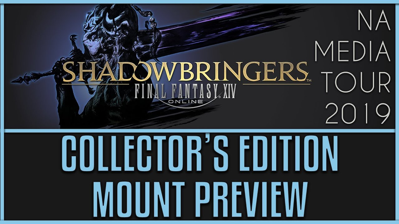 FFXIV: Shadowbringers - Collector's Edition Mount Preview (Grani)