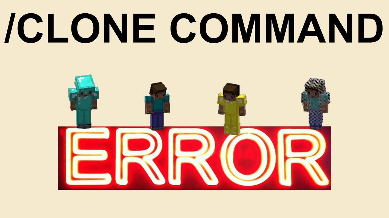 How to Minecraft: Fixing Clone Command Errors