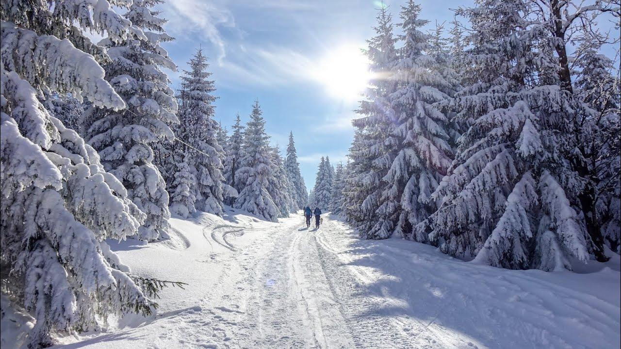 Zima w górach - YouTube