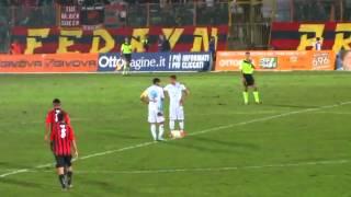 Casertana Catania 2-0