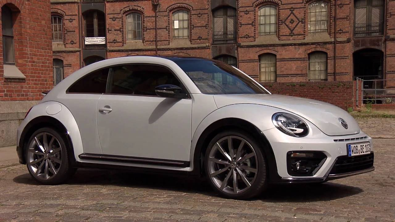 2017 volkswagen beetle exterior design in white automototv youtube. Black Bedroom Furniture Sets. Home Design Ideas