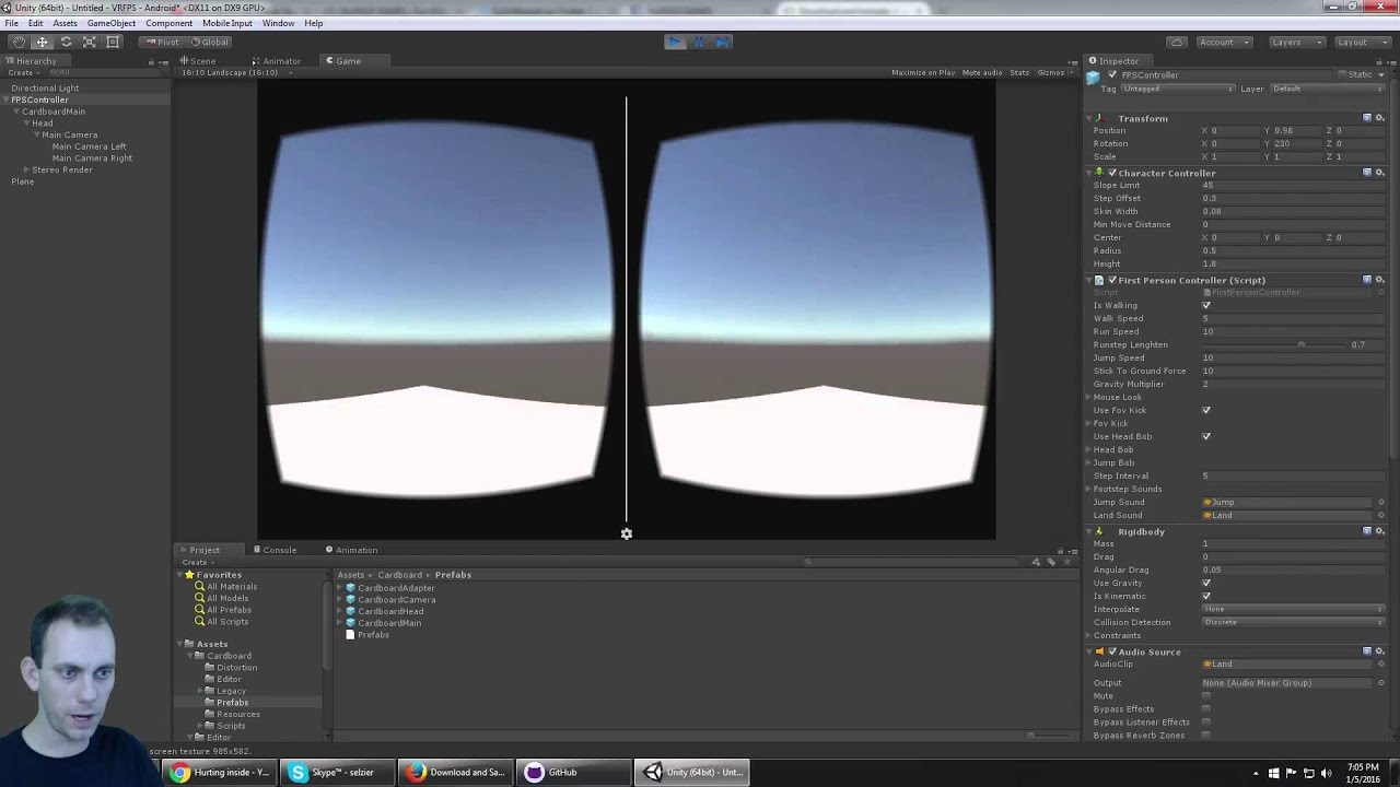 Tutorial: How To Build Google Cardboard Mobile VR Game Bluetooth Controller  Support in Unity PART 2