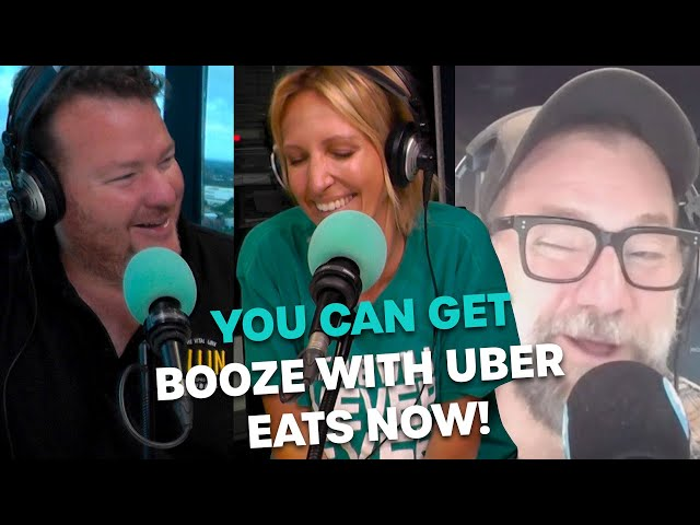 You Can Get Alcohol With Your Delivery Food Now! | Bec Cosi & Lehmo