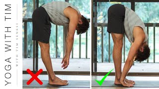 Forward Fold Hack - Learn How To Touch Your Toes | Yoga With Tim