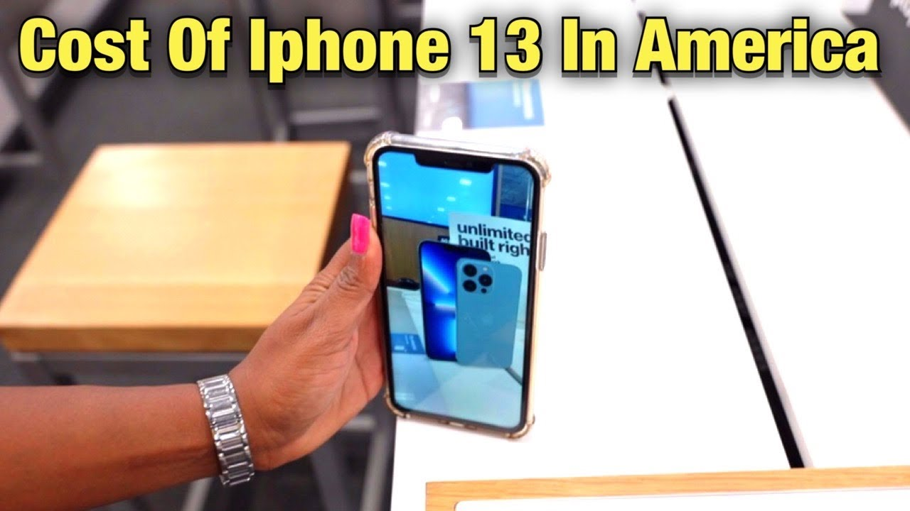 Cost Of iPhone 13 In America   Cost Of  iphone 13 Pro Max In USA   Best Buy   Rohan Virdi
