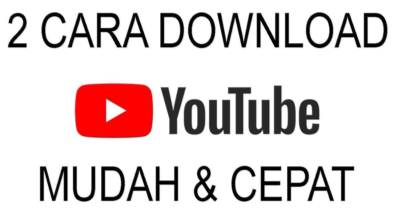 Cara download video dari youtube dengan idm youtube.