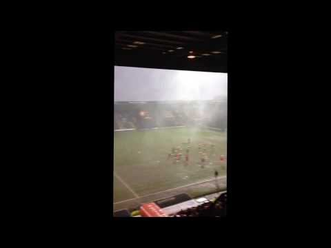 Crazy Storm Hits Meadow Lane