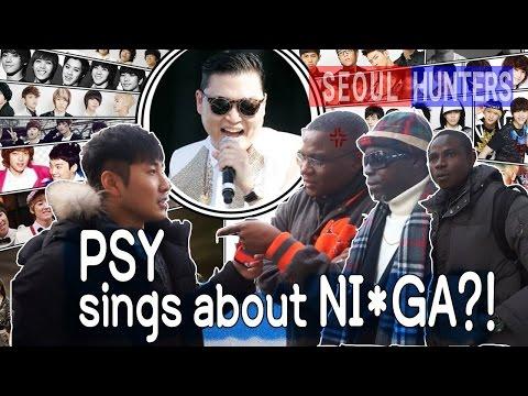 PSY sings about Nigga?! black people reaction 한국말 '니가'에 대한 흑인들의 반응은?! Kpop [Seoul hunters][한류] Mp3