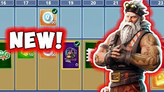 Fortnite Season 7 Battle Pass Spotlight! New Skins! Weapon Wraps and More!