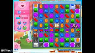 Candy Crush Level 948 Audio Talkthrough, 2 Stars 0 Boosters