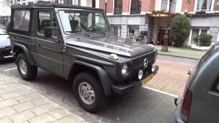 Mercedes Benz G Wagon Class Geländewagen Classic Cabriolet Diesel Jeep Coupe G500 461
