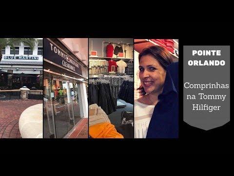 Pointe Orlando: Comprinhas na Tommy Hilfiger!!!!