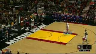 NBA 2K13 - Gameplay DEMO