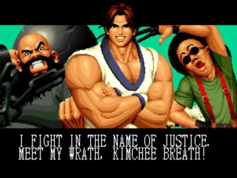 The King Of Fighters '95 (Arcade) Playthrough As Kim Team