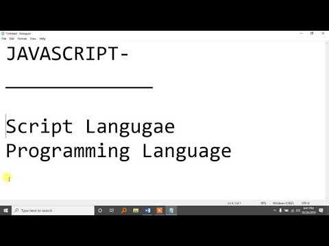 Javascript Bangla Tutorial Part-1 thumbnail