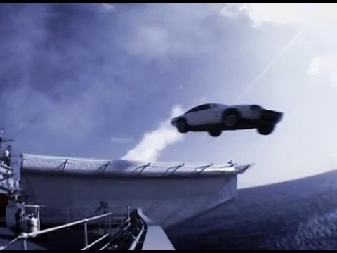 End of the Stig?   Super Jaguar Vs Harrier Jet (HQ)   Top Gear series 3   BBC