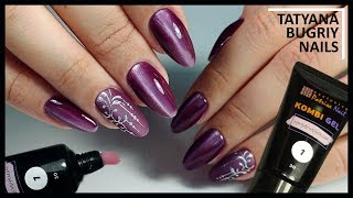 Correction of Pure Nails COMBI GELEM / Nail Design / Patrisa Nail Kombi Gel
