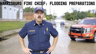 Harrisburg Fire Chief Brian Enterline: Preparations for flooding in Harrisburg