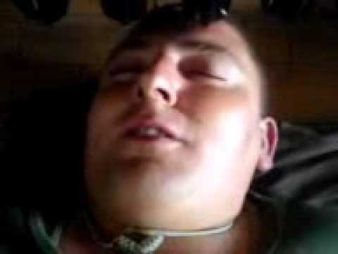 Kasarna zajecar 2009 Krle spava u ktb-u.3gp