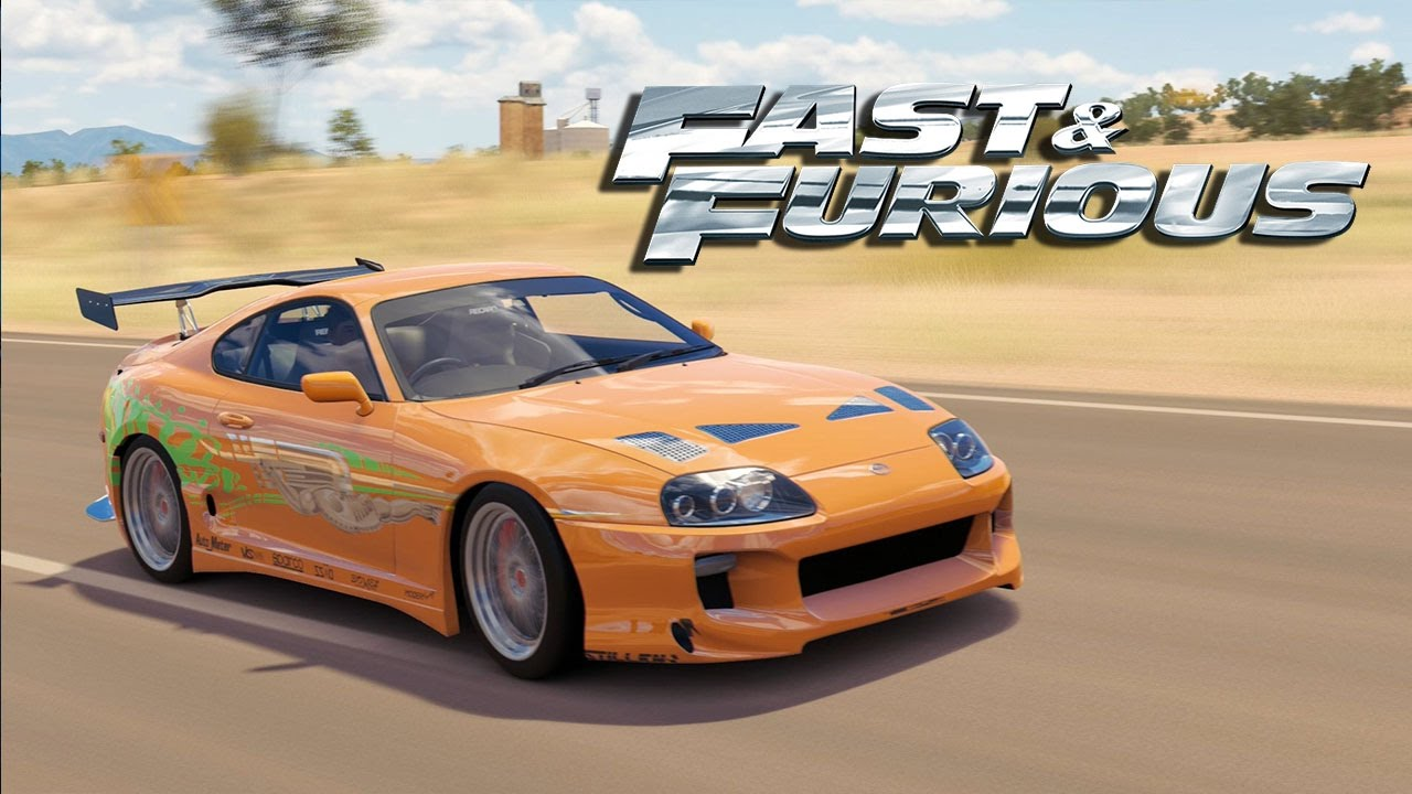 Toyota Supra From The Fast And The Furious Forza Horizon 3 The Fast And The Furious Toyota Supra Paul Walker Supra Car Customization