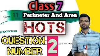 D.A.V. Maths  Class V    Ch 12 Perimeter and Area HOTSPart 2  n English By Art Of Mathematica