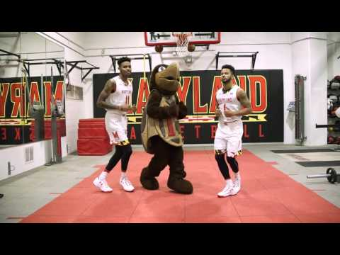 This is Maryland Basketball - Running Man