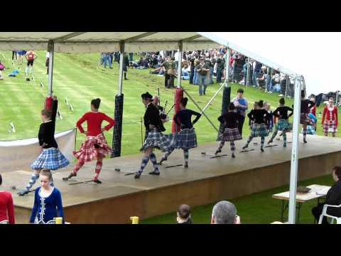 Crieff Highland Games, Sword Dance.