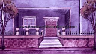 Mary Poppins Scenic Projections: Act One Scene Six