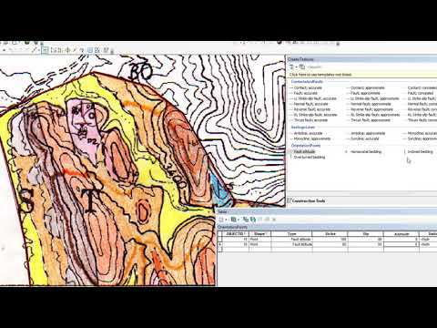 2018 Geologic Map Compilation (5): Strike and Dips