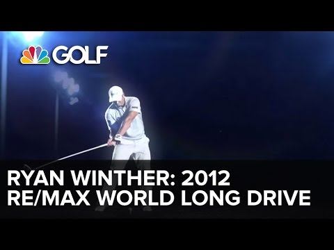 RE/MAX 2012 World Long Drive Champion - Ryan Winther