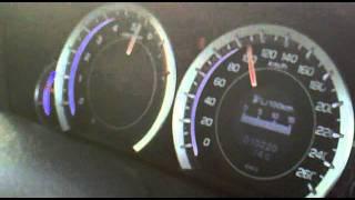 2011 Honda Accord 2.4 Exclusive M/T 0-160km/h acceleration