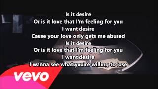 Years & Years -  Desire Lyrics