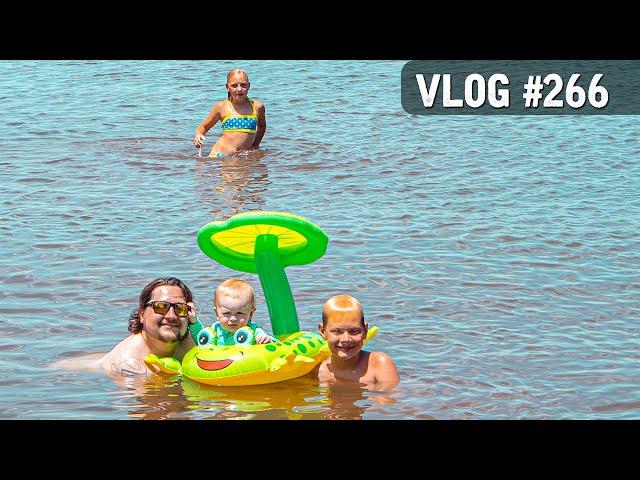 VLOG #266 / Family LAKE Chillin' / June 6, 2020
