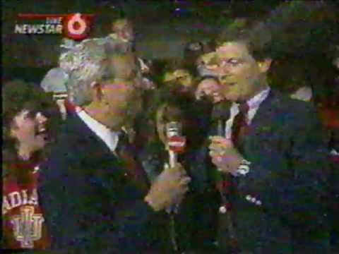 Indiana University 1987 Champs - WRTV part 2