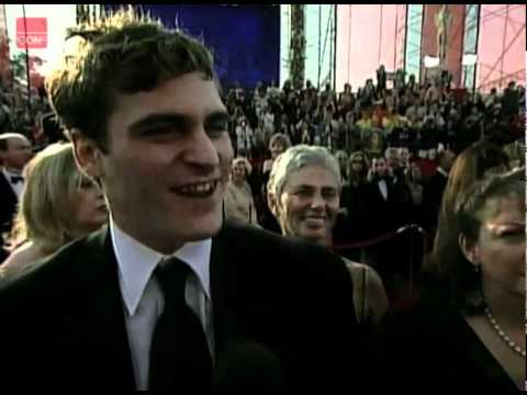 Chow Yun Fat, Joaquin Phoenix and Tom Hanks at the 2001 Academy Awards
