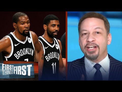KD & Kyrie's Nets will be 2nd best team in NBA, won't beat Lakers — Broussard | FIRST THINGS FIRST