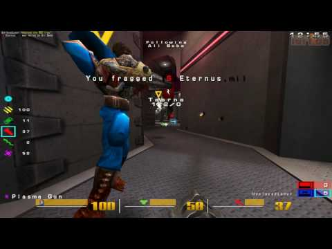 Quake 3 OSP: Ali Baba Losing On Map Q3WCP17
