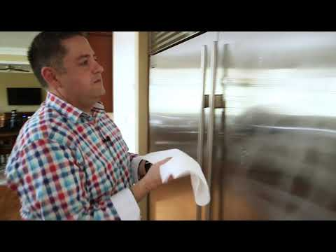 How to clean stainless steel the RIGHT way!