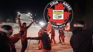 Interski 2019 - Team Canada at the Closing Ceremonies