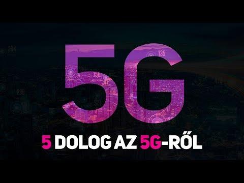 5 DOLOG az 5G hálozatról! Mi az az 5G? Miért lesz jó nekünk?