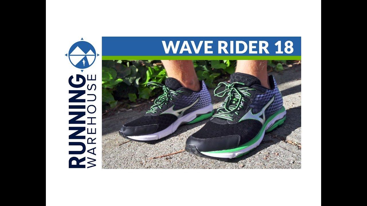 mizuno wave rider 18 opiniones