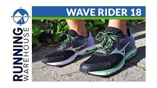 Mizuno Wave Rider 18 Shoe Review